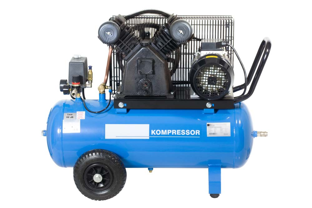 Blue Air Compressor